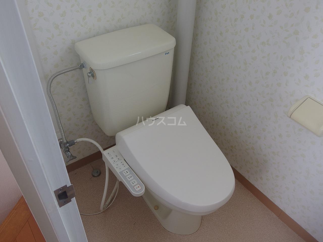 タウンハウス落合のトイレ