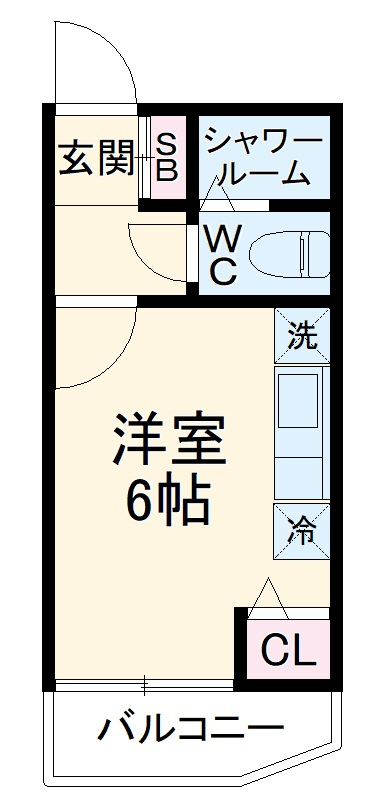 ファインコート橋本 302号室の間取り