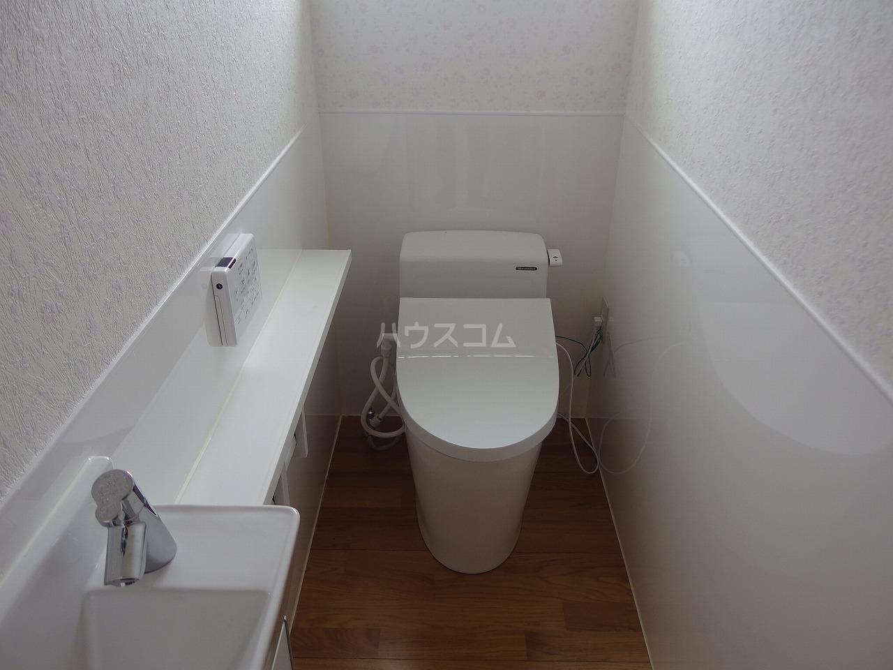 大成貸家のトイレ