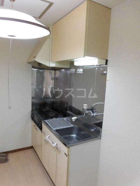 ハイツモリヤ 202号室のキッチン