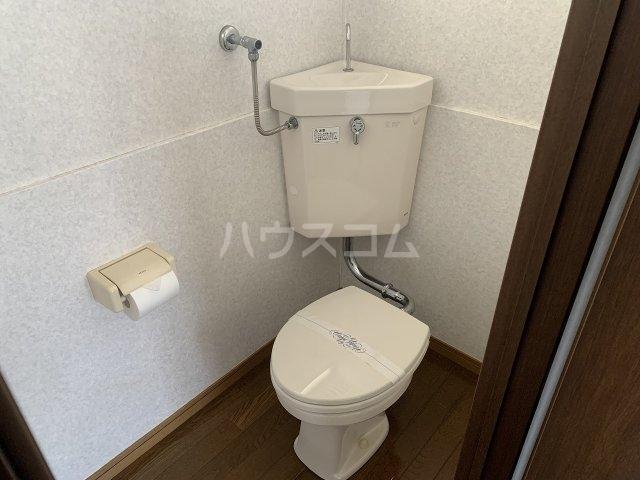 第2白王荘 201号室のトイレ