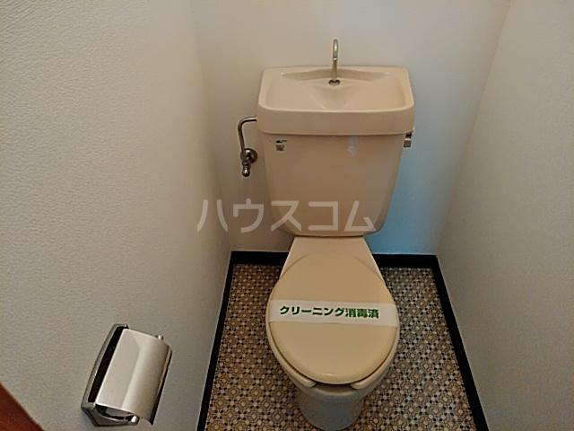 柿澤ビル 202号室のトイレ