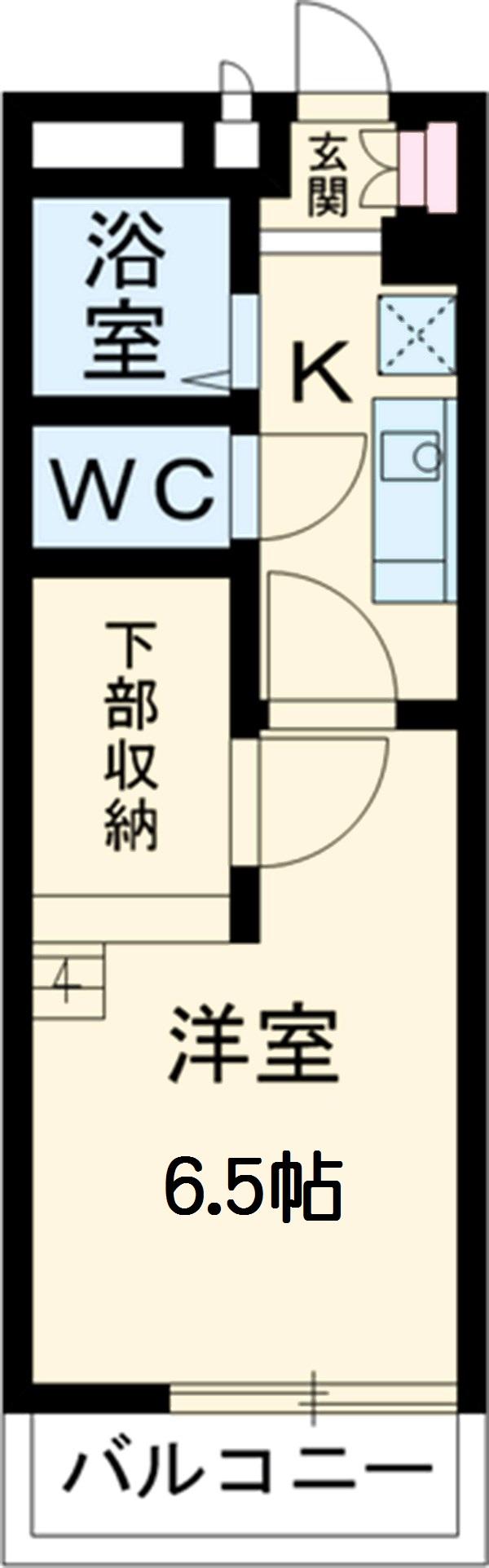 OMレジデンス上飯田・113号室の間取り