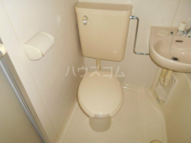 第3宮田ビル 203号室のトイレ
