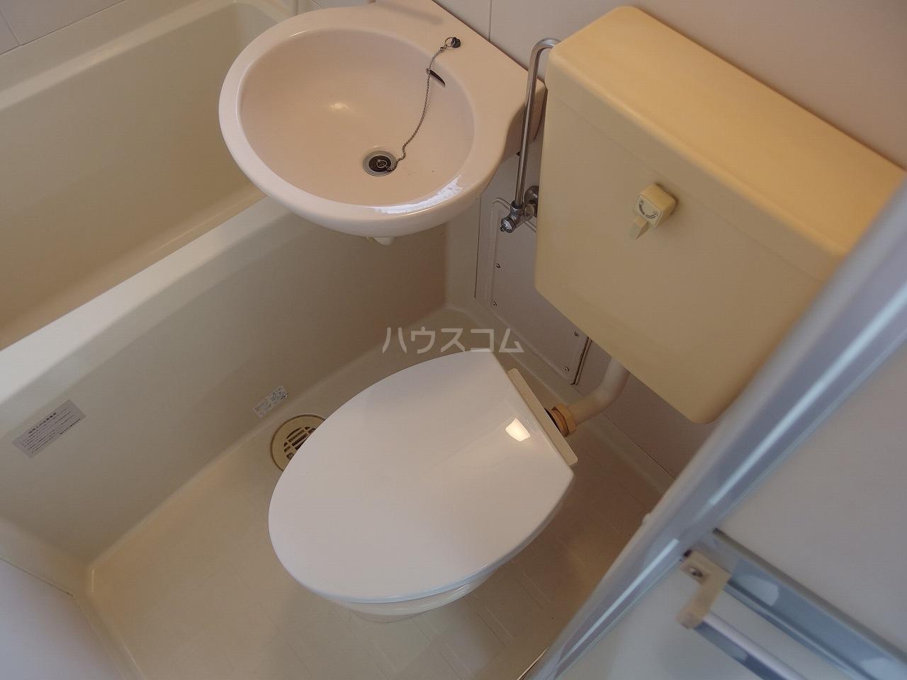 サウザンドヴィレッジ桜ヶ丘 101号室のトイレ