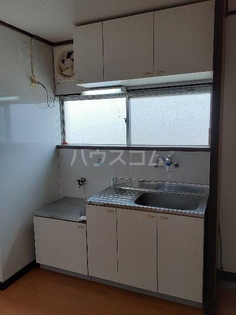 コーポカトウ 201号室のキッチン