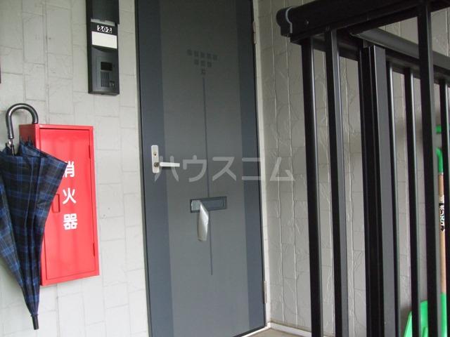 パナポートⅠ 201号室の玄関