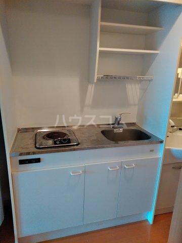 サンライズ沖浦 303号室のキッチン