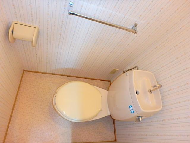 天神ハイツ 201号室のトイレ