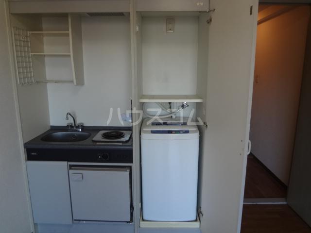 ライオンズシティ八王子 401号室のキッチン