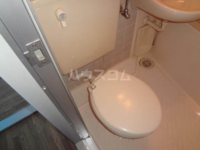 ライオンズシティ八王子 401号室のトイレ