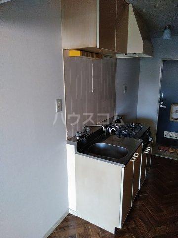 アネックスB 203号室のキッチン