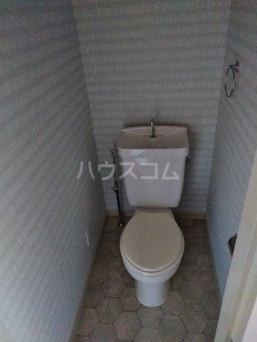 アネックスB 203号室のトイレ