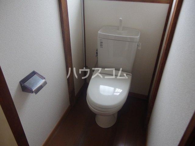 土方シマ貸家のトイレ