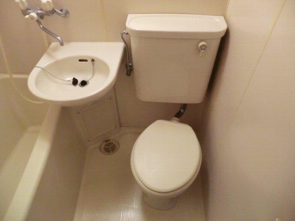 檜の森ハイツ 301号室のトイレ