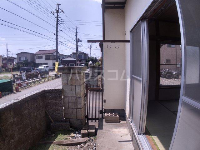 斉藤ハイツ 00101号室のバルコニー