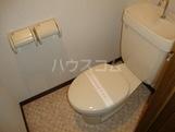 ラフィーネ中央台 201号室のトイレ