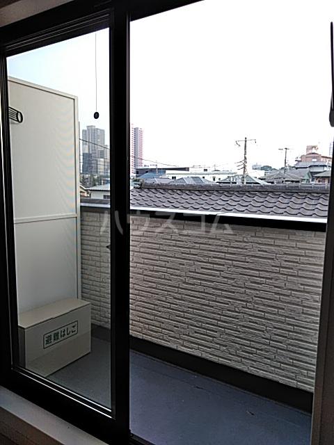 クレド橋本 302号室のバルコニー