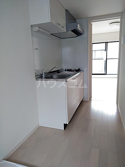 クレド橋本 302号室のキッチン