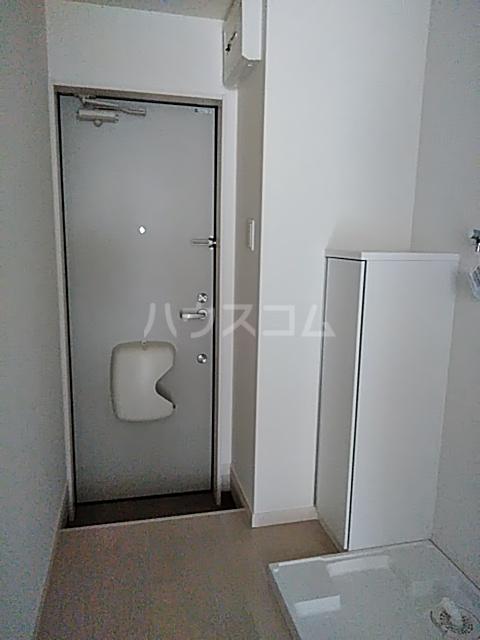 クレド橋本 302号室の玄関