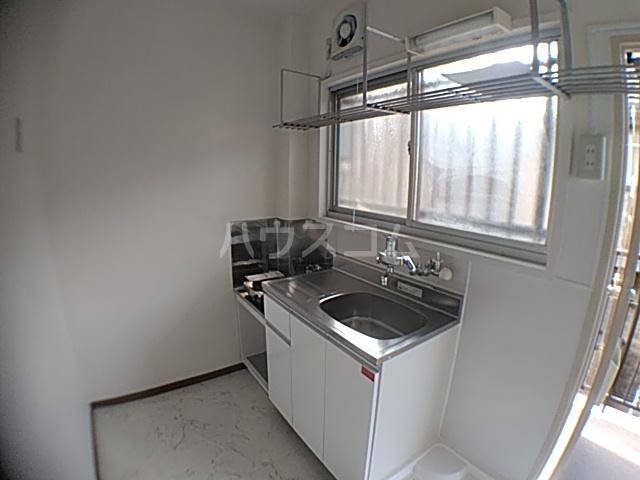 竹屋コーポ 207号室のキッチン