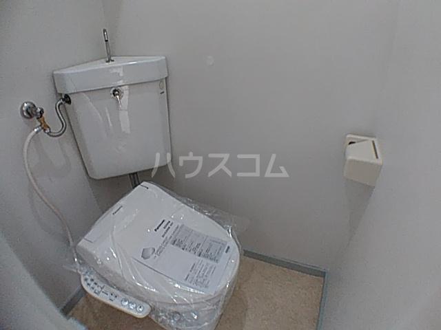 竹屋コーポ 207号室のトイレ