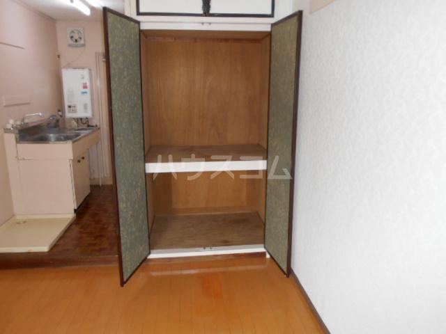 第3一水荘 103号室の収納