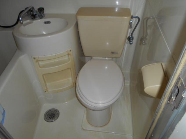 サンハイツクロダ 101号室のトイレ