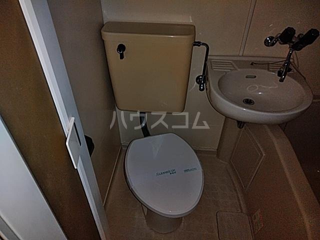 シオン八王子 502号室のトイレ