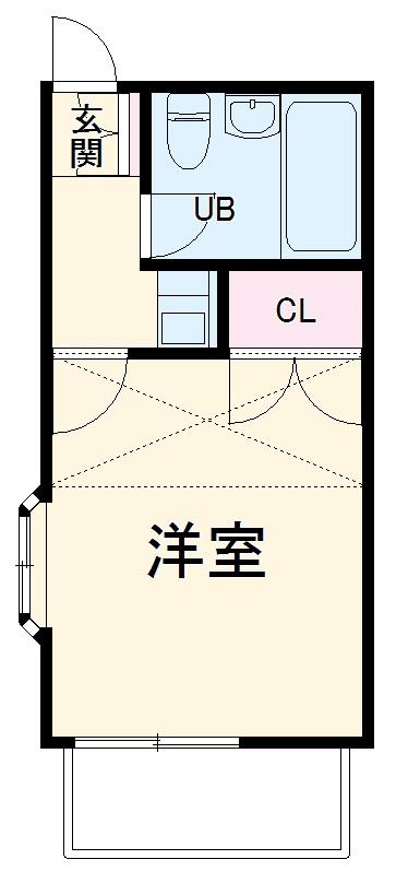 寺尾サイトーレオハウス 202号室の間取り