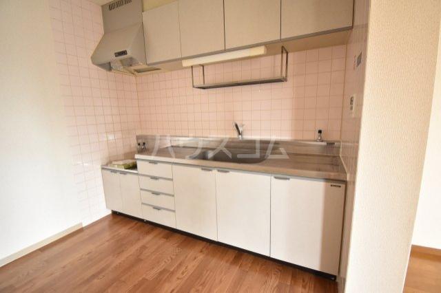 ホーフパラシオン川越 201号室のキッチン