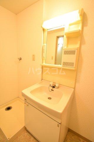 ホーフパラシオン川越 201号室の洗面所