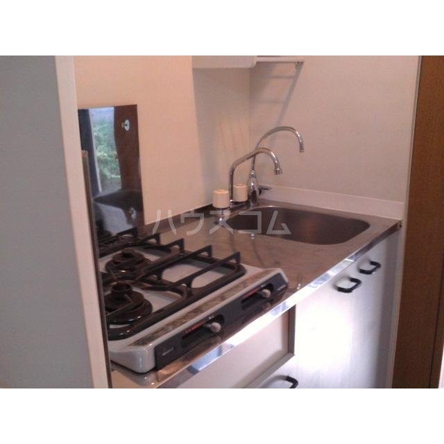 アムールナナ 201号室のキッチン
