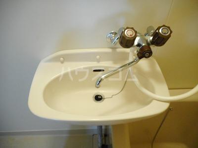 クレインコートハウス 02010号室の洗面所