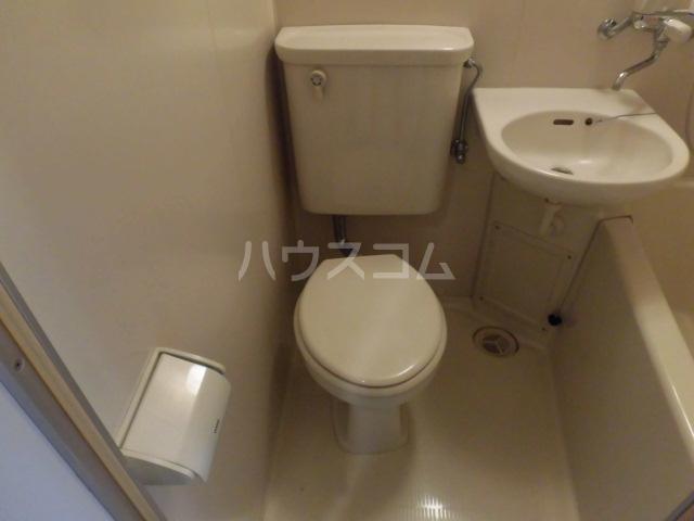 ライオンズマンション八王子北野 105号室のトイレ
