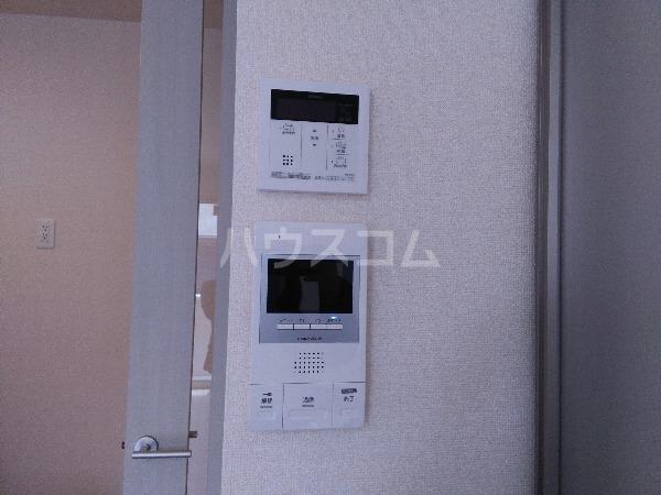 シャルムPeony 102号室のバルコニー
