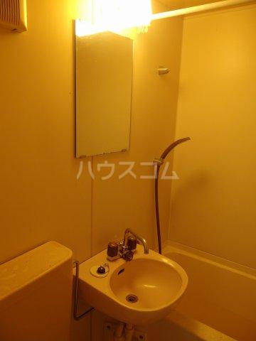 ヴィラ桜ヶ丘 106号室の洗面所