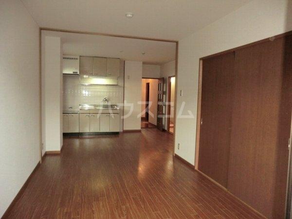 ルミエール松河戸 305号室のリビング