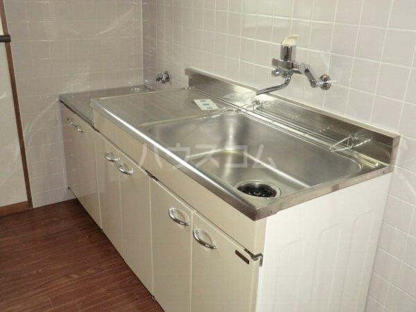 ルミエール松河戸 305号室のキッチン
