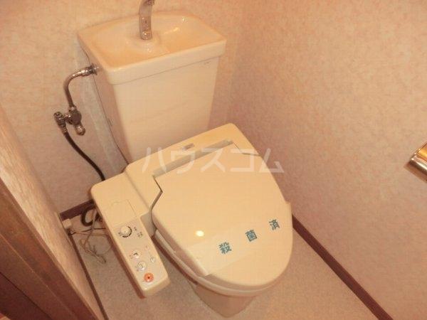 ルミエール松河戸 305号室のトイレ