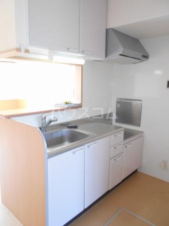 プラムズ・ヴィラ 103号室のキッチン