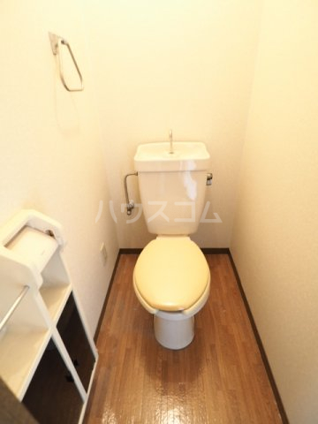 セジュールときわ 205号室のトイレ