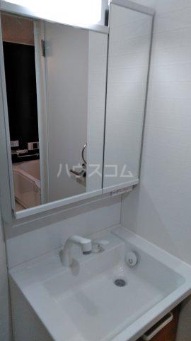関田農住団地コーポつかさ 302号室の洗面所