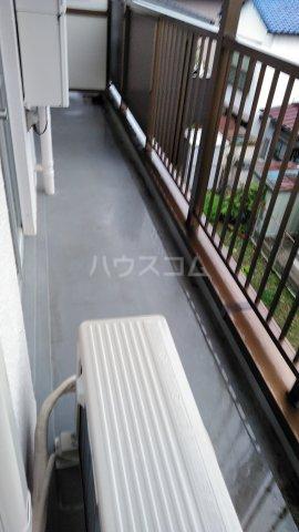 関田農住団地コーポつかさ 302号室のバルコニー