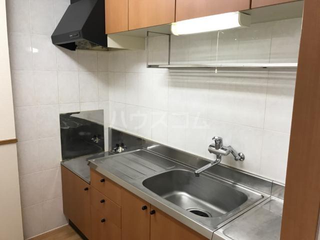 ウエストステージ 202号室のキッチン