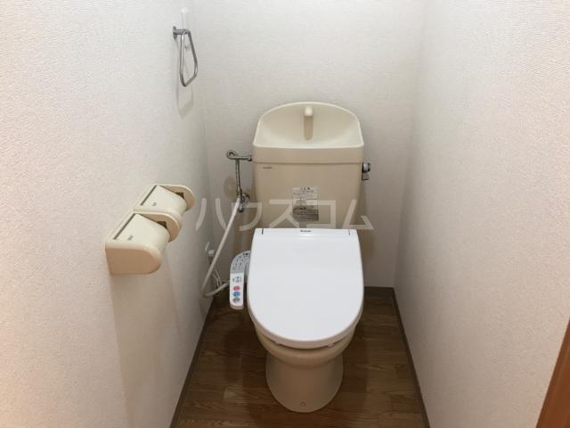 ウエストステージ 202号室のトイレ