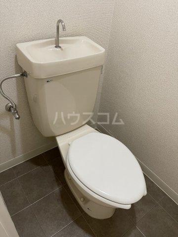 ハイライフ大曽根 203号室のトイレ