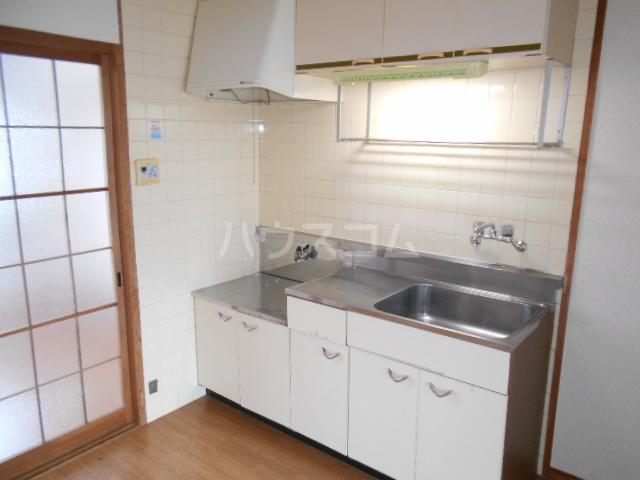 第1サンハイツ戸崎 303号室のキッチン