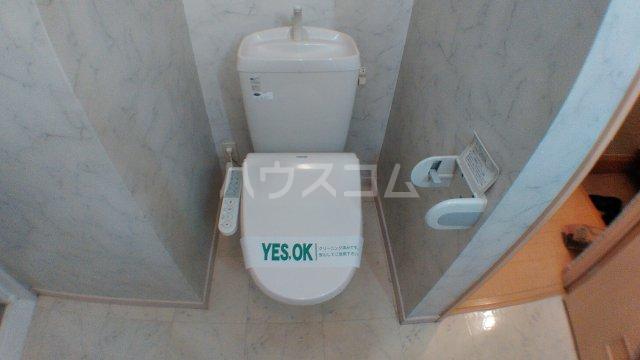 ハッピートレビナ 201号室のトイレ