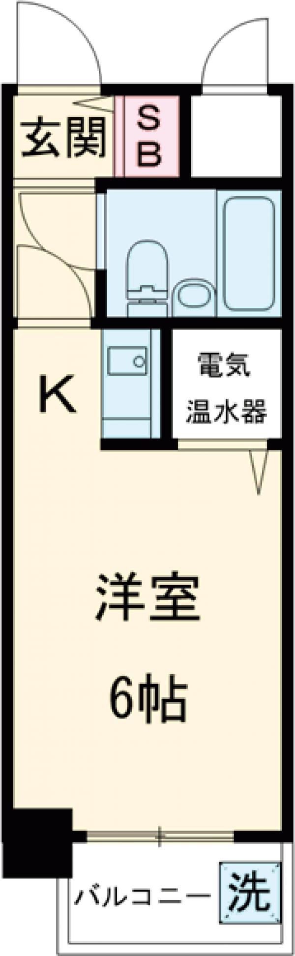 ライオンズマンション聖蹟桜ヶ丘第3 101号室の間取り